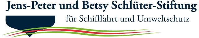 Logo Jens-Peter und Betsy Schlüter-Stiftung für Schifffahrt und Umweltschutz